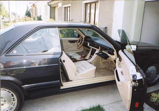 мерседес 126 купе кузов фото
